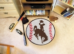 University of Wyoming Baseball Mat 27'' Diameter [1578-FS-FAN]