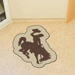 University of Wyoming Mascot Mat Approx. 36'' x 36'' [8343-FS-FAN]