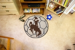 University of Wyoming Soccer Ball [1579-FS-FAN]