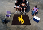 University of Wyoming Team Mascot Tailgater Mat 60'' x 72'' [1581-FS-FAN]