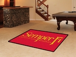 US Marines - Semper Fi 4' x 6' Rug [7188-FS-FAN]