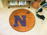 US Naval Academy Basketball Mat 27'' Diameter [3544-FS-FAN]