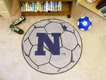US Naval Academy Soccer Ball Mat 27'' Diameter [3540-FS-FAN]