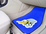 US Navy - Seebees Carpet Car Mat 2 Pc 18'' x 27'' [8090-FS-FAN]
