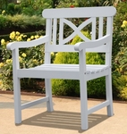 V1341 Bradley Outdoor Wood Armchair [V1341-FS-VIF]