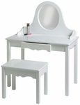 Vanity and Bench Set [47-FS-LC]