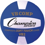 VB Pro Comp Official Size and Weight Volleyball - Blue and White [VB2BL-FS-CHS]