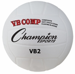 VB Pro Comp Official Size and Weight Volleyball in White [VB2-FS-CHS]