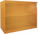 Napoli and Corsica 2 Shelf Bookcase - Golden Cherry [VB2GCH-FS-MAY]