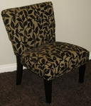 Versize Burnt Velvet Accent Chair [72850-FS-DCON]