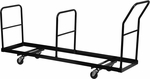 Vertical Storage Folding Chair Dolly - 35 Chair Capacity [NG-DOLLY-309-35-GG]