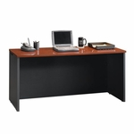Via 59''W x 30''H Wooden Desk Credenza with Adjustable Levelers - Cherry [401448-FS-SRTA]