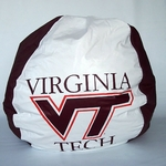 Viginia Tech Hokies Bean Bag Chair [BB-40-VT-FS-BBB]