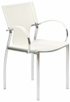Vinnie Arm Chair in White [17211WHT-FS-ERS]