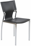 Vinnie Side Chair in Black - Set of 4 [17212BLK-FS-ERS]