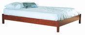 Vintage Collection Queen Platform Bed (60'') Classic Cherry
