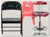 Vinyl Personalized Chairs