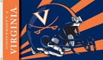Virginia Cavaliers 3' X 5' Flag with Grommets - Helmet Design [95357-FS-BSI]