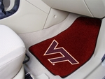 Virginia Tech Carpeted Car Mat [5421-FS-FAN]