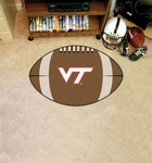 Virginia Tech Football Rug [4590-FS-FAN]