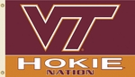 Virginia Tech 'Hokie Nation' 3' X 5' Flag with Grommets [95211-FS-BSI]