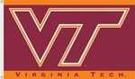 Virginia Tech Hokies 3' X 5' Flag with Grommets [95011-FS-BSI]
