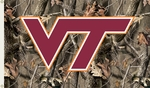 Virginia Tech Hokies 3' X 5' Flag with Grommets - Realtree Camo Background [95411-FS-BSI]