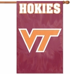 Virginia Tech Hokies Applique Banner Flag [AFVT-FS-PAI]