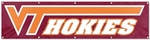 Virginia Tech Hokies Giant 8' x 2' Banner [BVT-FS-PAI]