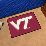 Virginia Tech Starter Mat 19'' x 30'' [4589-FS-FAN]