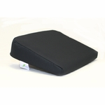 BetterPosture® Memory Seat Wedge with Removable Coccyx Cut Out - Black [BP1004BK-FS-JB]