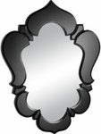 Vishnu Mirror with Black Trim [850012-FS-ZUO]