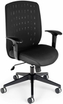 Vision Executive Task Chair - Black [654-2701-FS-MFO]