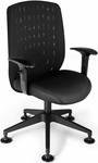 Vision Executive Guest Chair - Black [655-2701-FS-MFO]