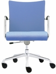 Visita Upholstered Back Swivel Chair [VI2250-FS-DV]