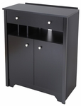 Vito Collection Charging Station Cabinet Black [3170790-FS-SS]