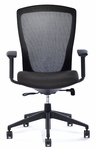 Viva Task Chair with Black Mesh Back [49045-VA-FS-ALL]