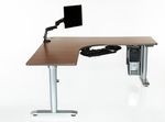 Vox Perfect Corner Desk with Power Adjustment [VX-727224-PC-ADAS]