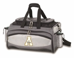 Vulcan Tailgating Cooler and Barbecue Set - Black- Appalachian State University Digital Print [770-00-175-794-0-FS-PNT]