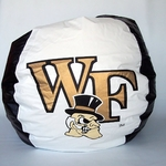 Wake Forest Demon Deacons Bean Bag Chair [BB-40-WF-FS-BBB]