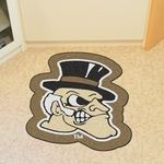 Wake Forest University Mascot Mat Approx. 36'' x 36'' [8345-FS-FAN]