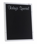 Wall-Mounted Aluminum Frame ''Today's Special'' Menu Board [AS-272-2OTS-MSH]
