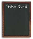 Wall-Mounted Wood Frame Today's Special Menu Board [WS-272-20TS-MSH]