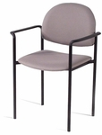 Wall Saver Stacking Side Chair / Patient Room Chair with Straight Arms [201-INT]