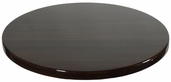 Walnut Resin 42'' Round Indoor Table Top