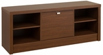 Series 9 Designer 53.75''W Cubbie Bench with 3 Large Storage Compartments - Cherry [LUBR-0501-1-FS-PP]