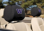 Washington Huskies Headrest Covers-Set of 2 [82054-FS-BSI]