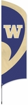 Washington Huskies Tall Team Flag w/ Pole [TTWS-FS-PAI]