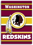 Washington Redskins 2-Sided 28'' X 40'' House Banner [94807B-FS-BSI]