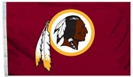 Washington Redskins 3' X 5' Flag w/ Grommets [94907B-FS-BSI]